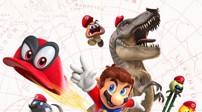Super Mario Odyssey logo art