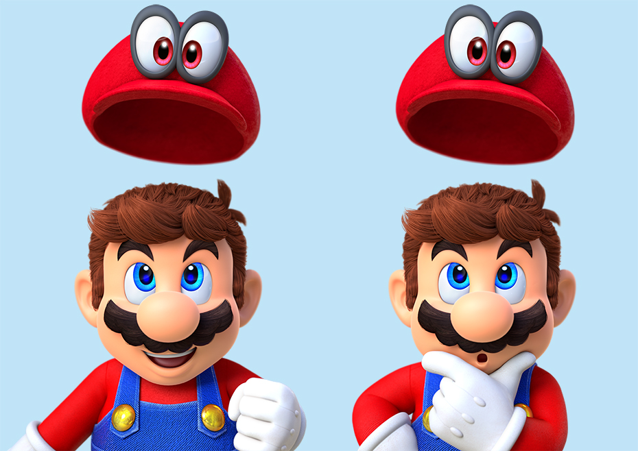 Super Mario Odyssey: Mario and Cappy