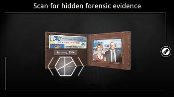 The Trace Murder Mystery App screenshot