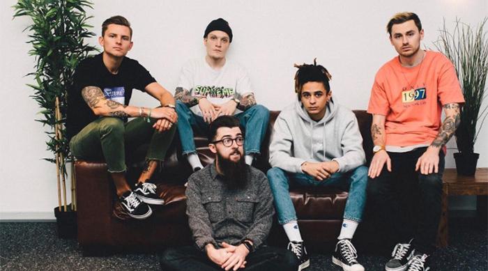 U.K.-based pop punk band Neck Deep