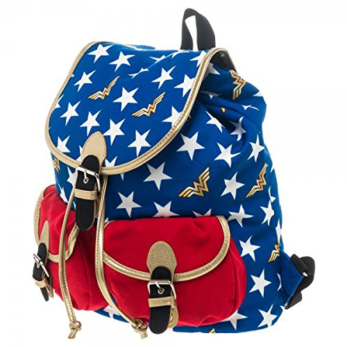 Wonder Woman stars knapsack