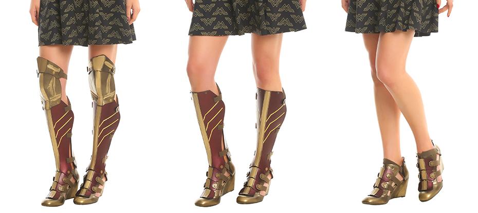 Wonder Woman cosplay boot set