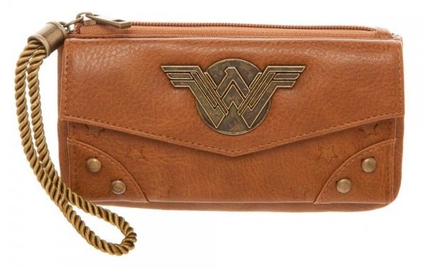 Wonder Woman leather purse