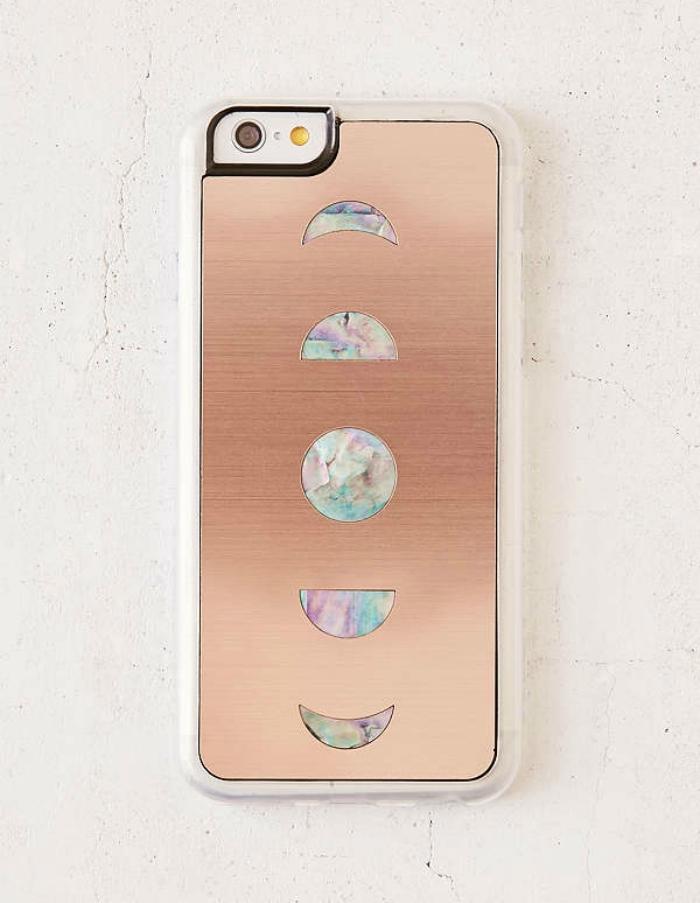 Zero Gravity Rose Gold iPhone Case