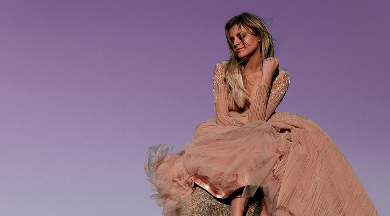 Kelsea Ballerini Pink Dress