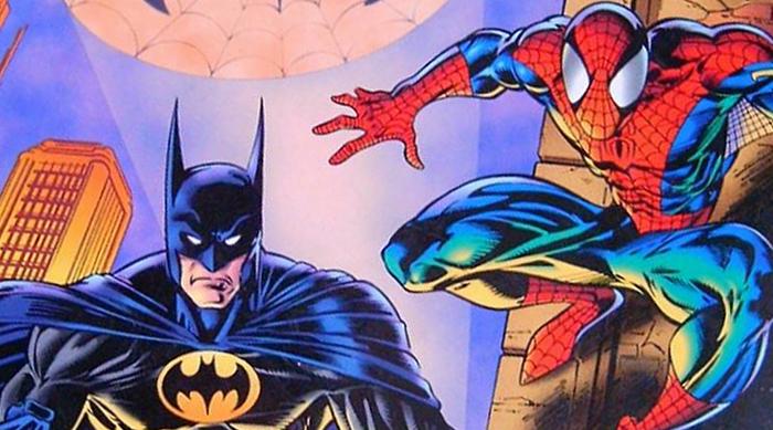 Batman vs. Spider-Man comic
