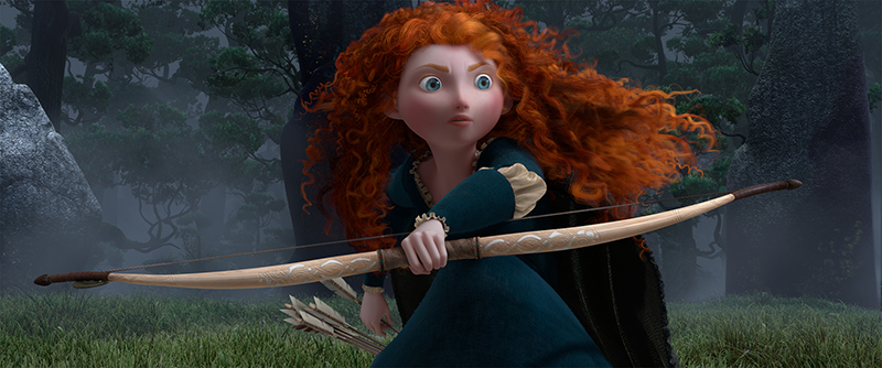 """BRAVE"" Merida (voice by Kelly Macdonald) ©Disney/Pixar. All Rights Reserved."