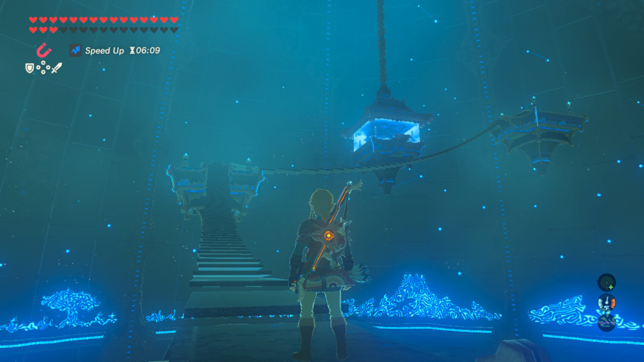 The Legend of Zelda: Breath of the Wild - The Master Trials DLC trial of the sword success room