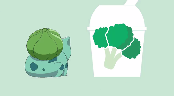 Bulbasaur Broccoli Pokémon McFlurry