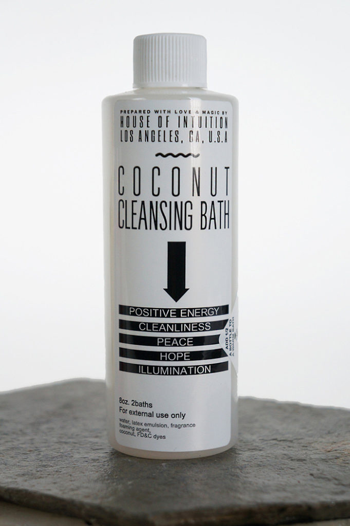 Coconut Cleansing Bath from House of Intuition