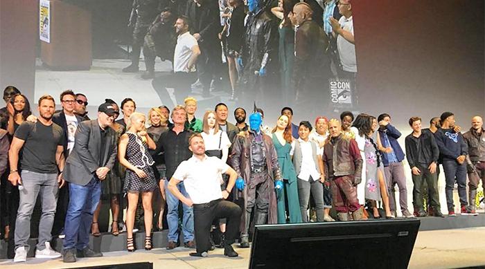 Marvel cast at Comic Con 2016