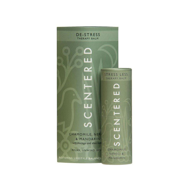 De-stress therapy balm from scentered