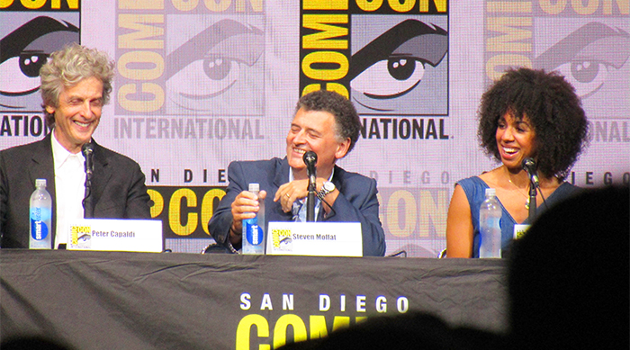 Doctor Who Comic-Con panel: Peter Capaldi, Steven Moffat and Pearl Mackie