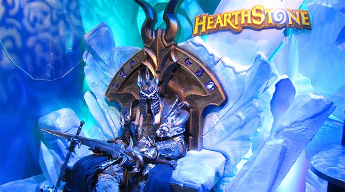 Hearthstone Lich King throne