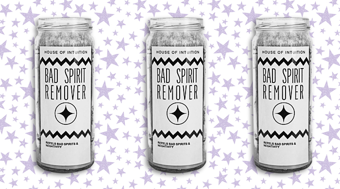 House of Intuition's Bad Spirit Remover candle