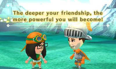 Miitopia: Amanda and Iain become friends