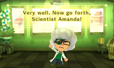 Miitopia: Amanda becomes a scientist