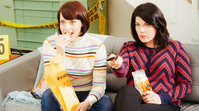 Hosts of My Favorite Murder, photo from EW interview