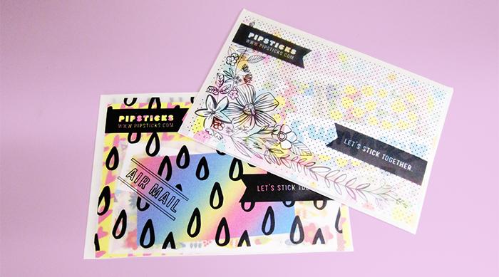 Pipsticks monthly sticker packs