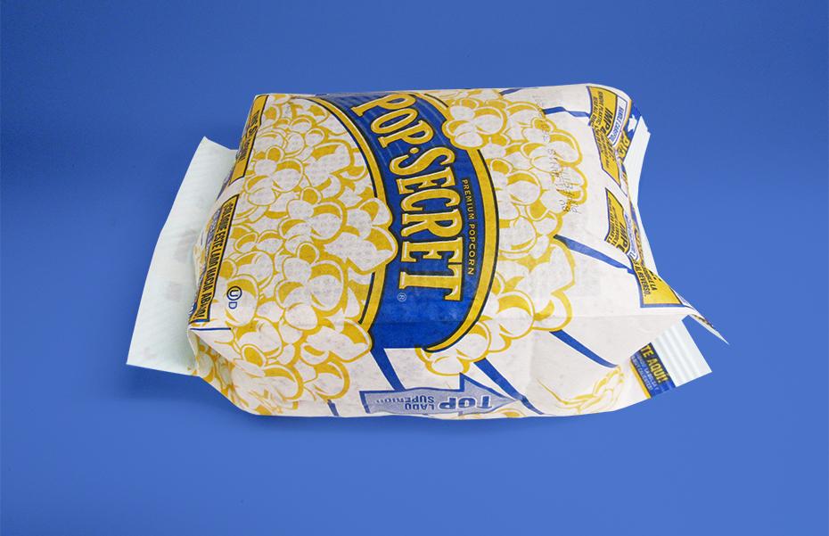 Pop Secret Popfetti puffed bag