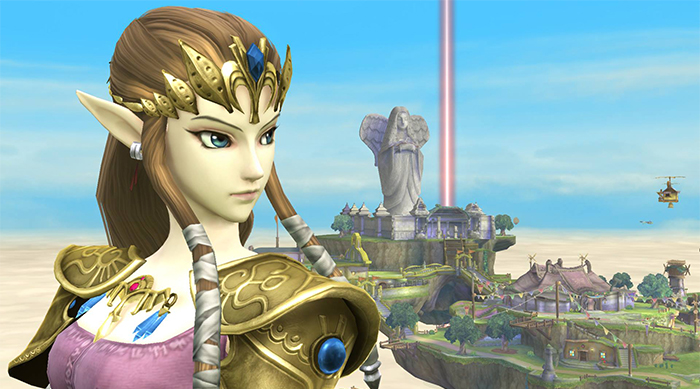 The Legend of Zelda: Princess Zelda in Super Smash Bros.