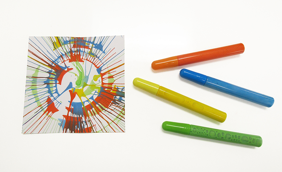 Tinker Crate spin art and paint pens