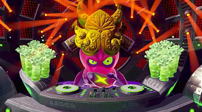 Splatoon DJ Octavio boss battle