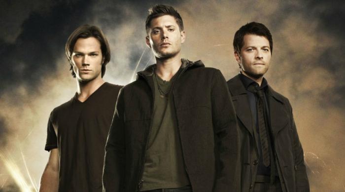 Supernatural boys, Dean, Sam and Castiel