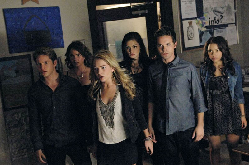 The cast of The CW's The Secret Circle