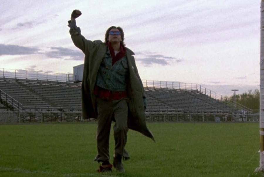 End frame of The Breakfast Club