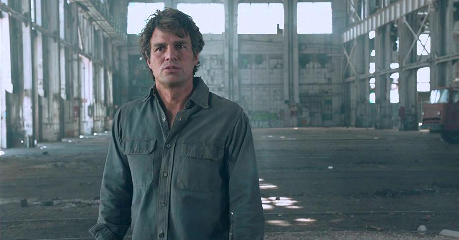Mark Ruffalo as Bruce Banner, aka the Hulk, in Marvel's The Avengers