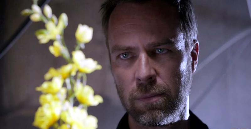Chris Argent growing wolfsbane on MTV's Teen Wolf