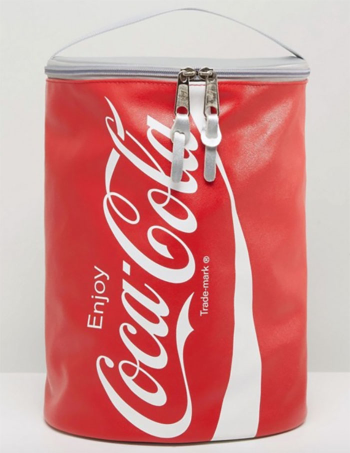 Coca-Cola can backpack from ASOS