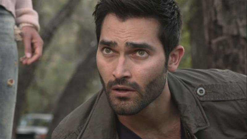 Derek Hale getting ready to fight on MTV's Teen Wolf