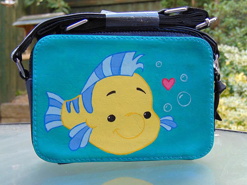 Flounder handbag from Etsy