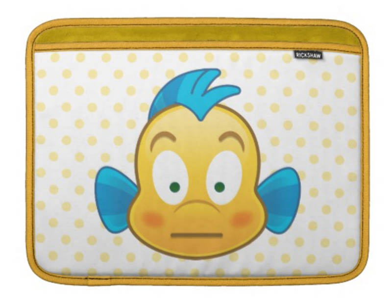 Flounder MacBook Sleeve from the Disney Store