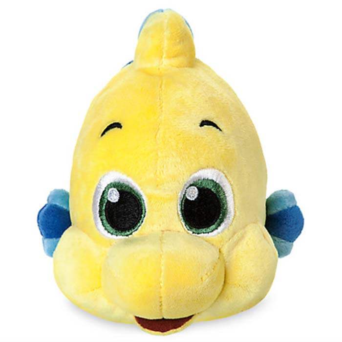 Flounder plushie from the Disney Store