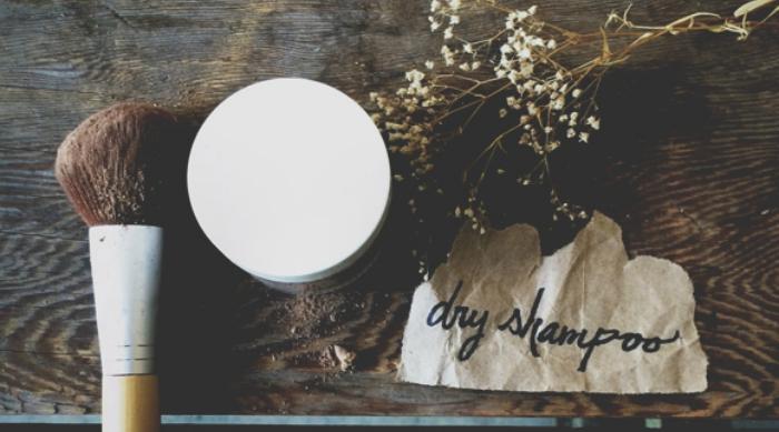 DIY Chamomile and oats dry shampoo