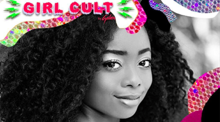 Skai Jackson for Galore's Girl Cult Festival