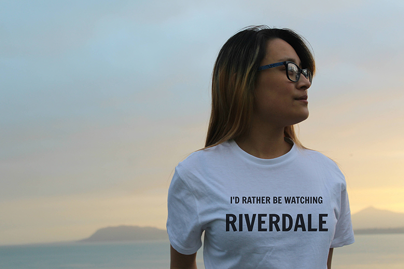 """I'd Rather Be Watching Riverdale"" T-shirt from Etsy"