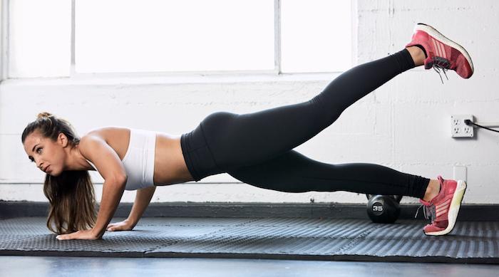 Katie Austin plank