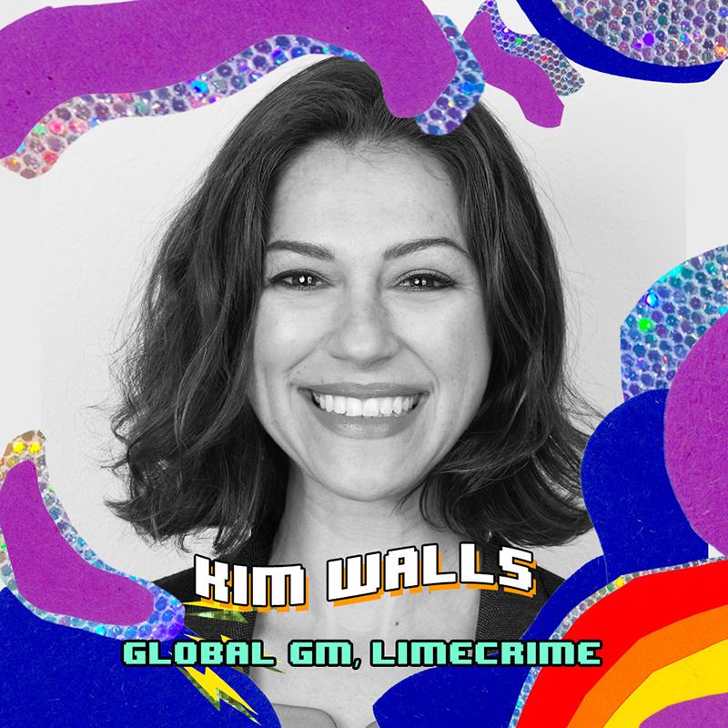 Kim Walls of Lime Crime