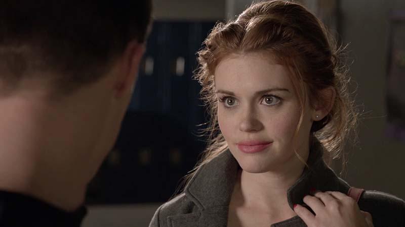 Lydia Martin talking to Jackson Whittemore on MTV's Teen Wolf
