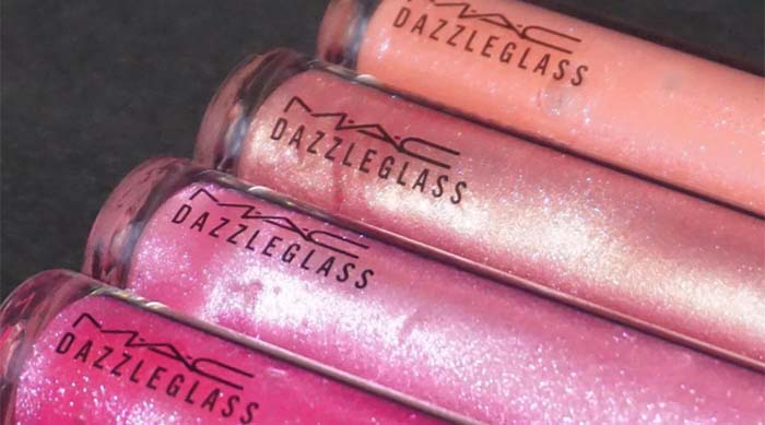 MAC Cosmetics' Dazzleglass lip glosses