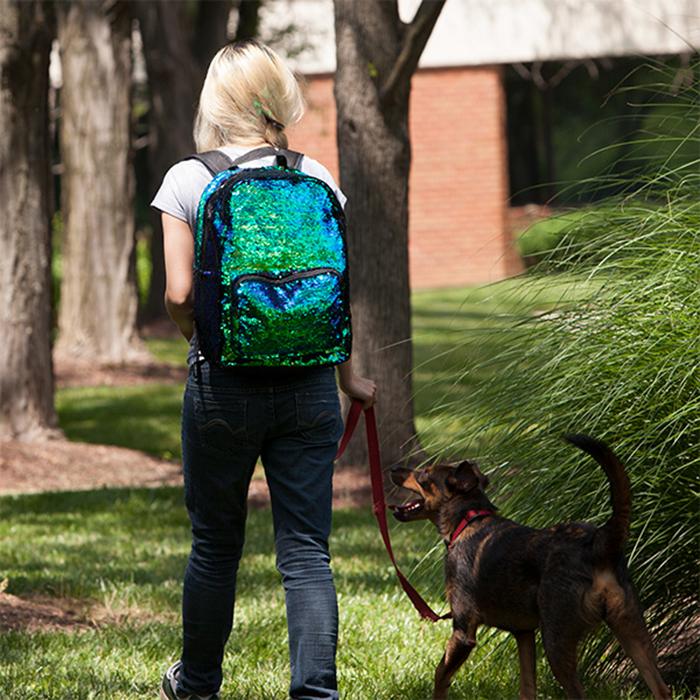 Mermaid sequins backpack from ThinkGeek