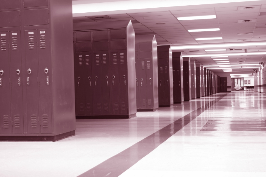 Monochromatic lockers in high school
