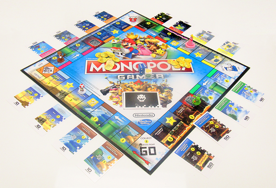 Review Of Monopoly Gamer Mario Bros Themed Board Game