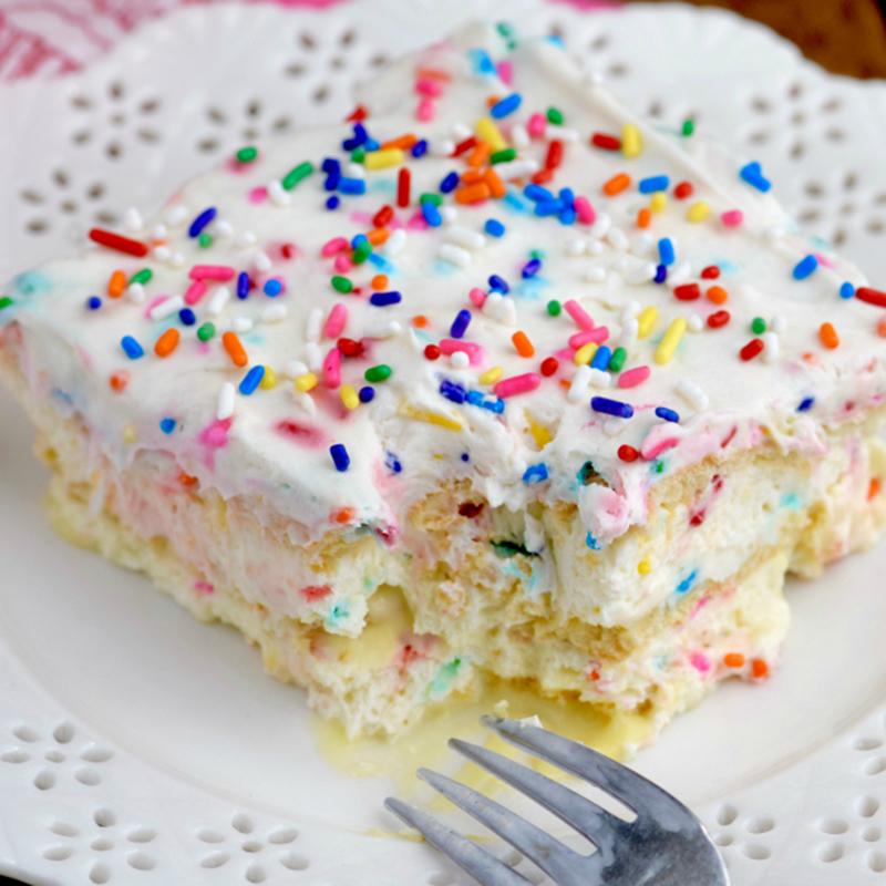 Birthday Cake-Flavored Desserts To Eat Year Round