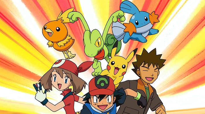 Pokémon anime generation 3