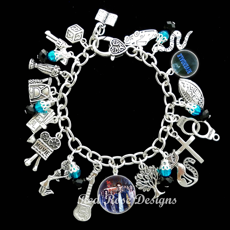 Riverdale-themed charm bracelet from Etsy